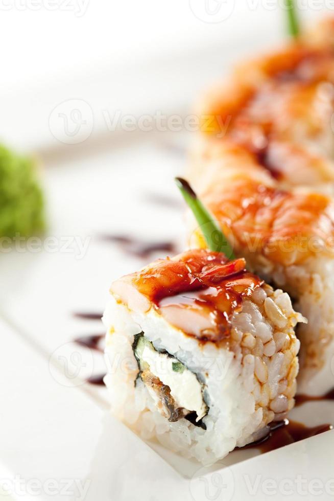 cocina japonesa - sushi foto