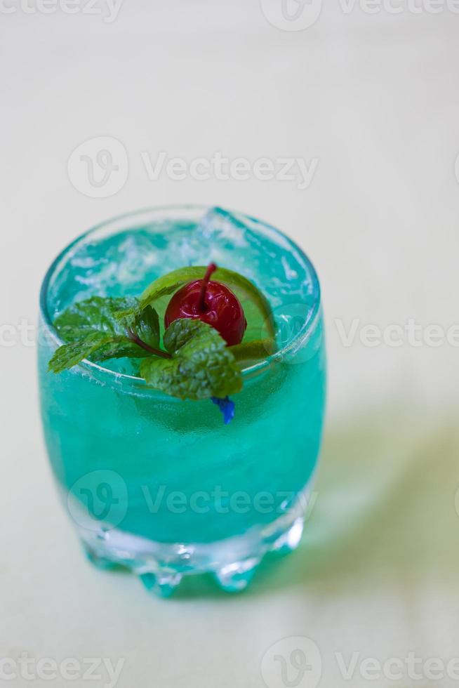 Green cocktail. photo
