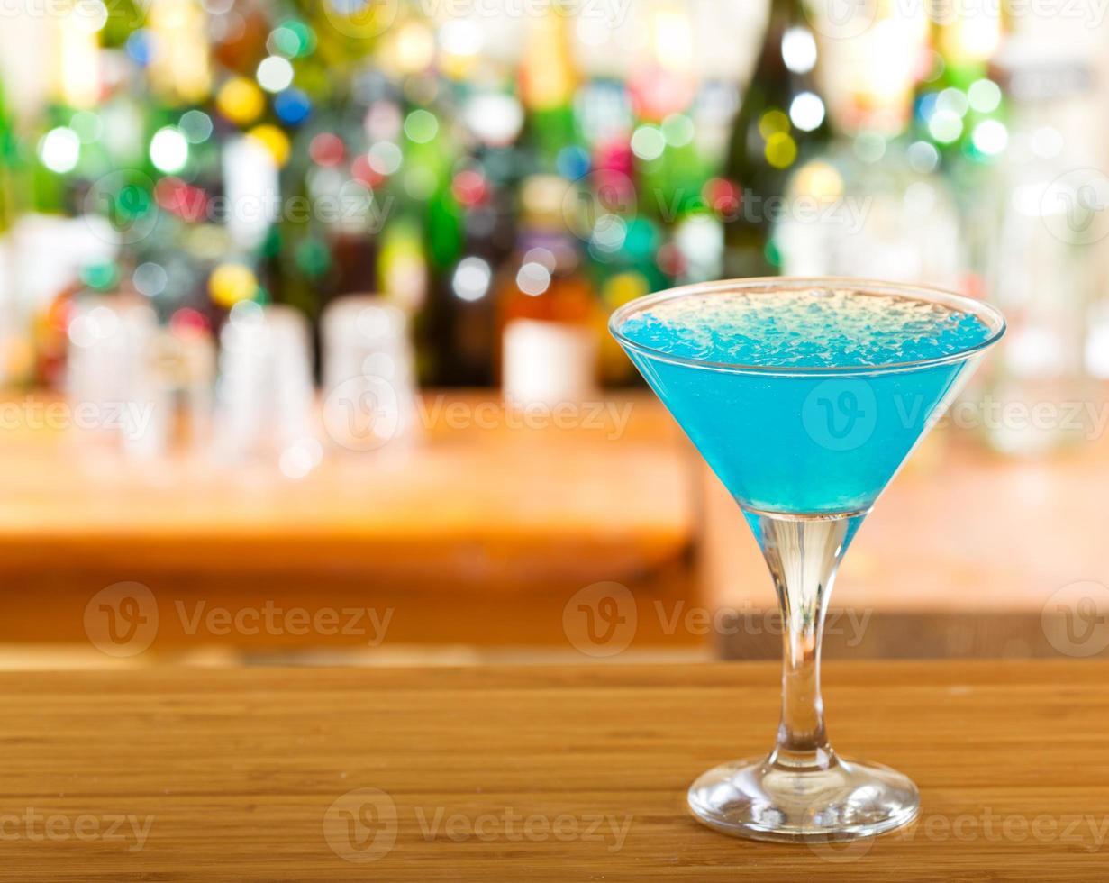 blue cocktail photo