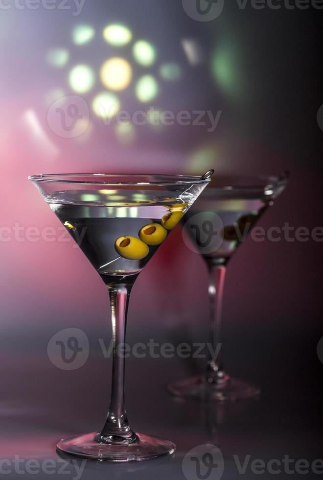 cóctel de martini foto