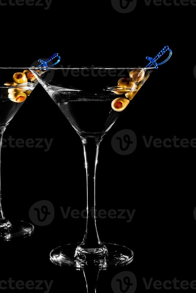 Martini glass photo