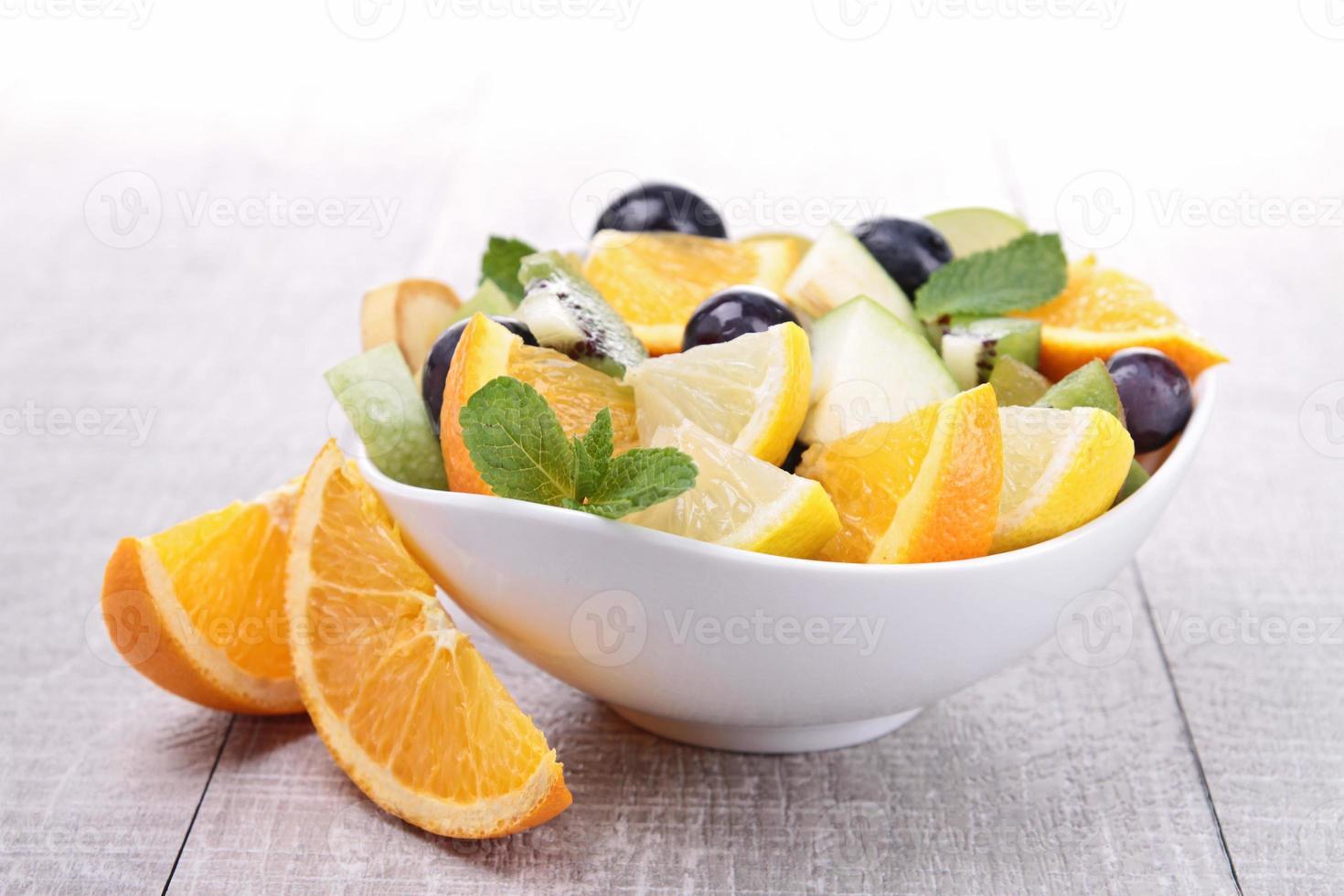 fresh fruit salad photo