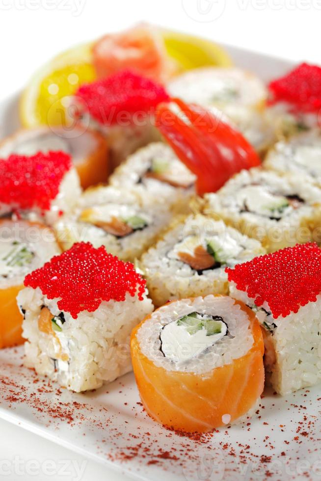 set de sushi maki foto