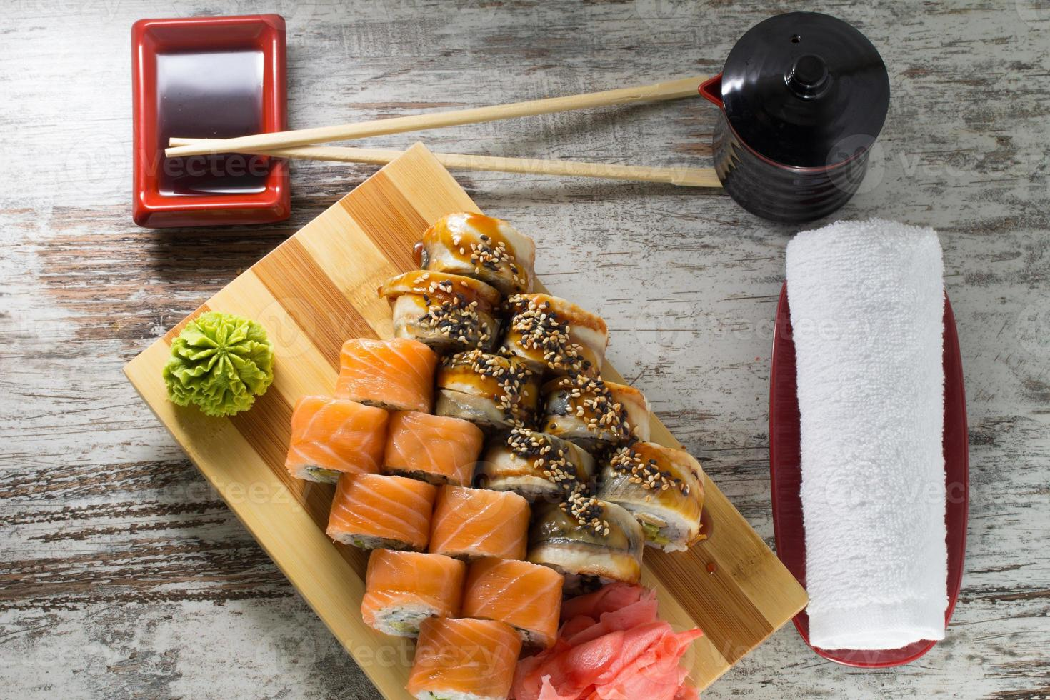 Sushi roll photo