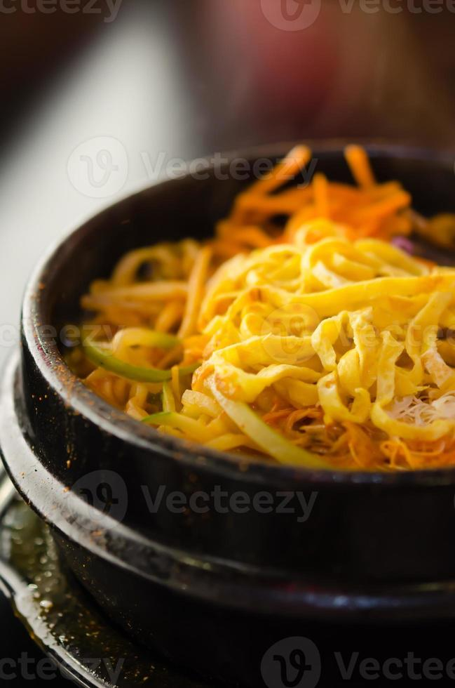Spicy Korean soup photo