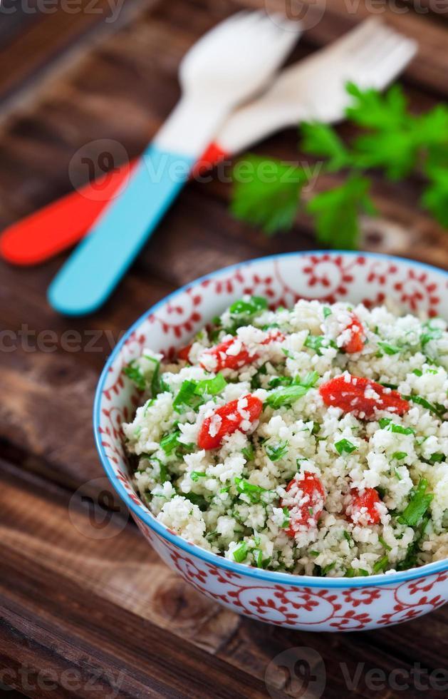 Cauliflower couscous photo