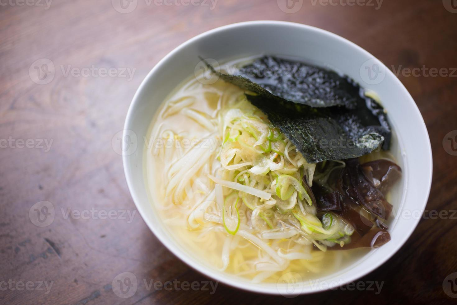 Japanese Noodles Shio Ramen photo
