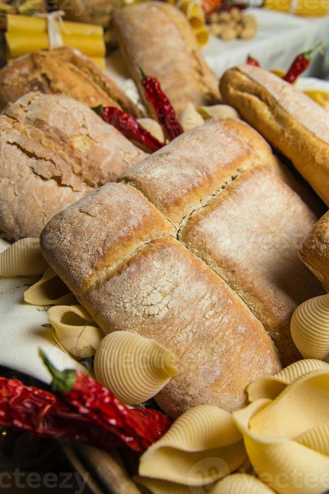 different sorts of bread photo