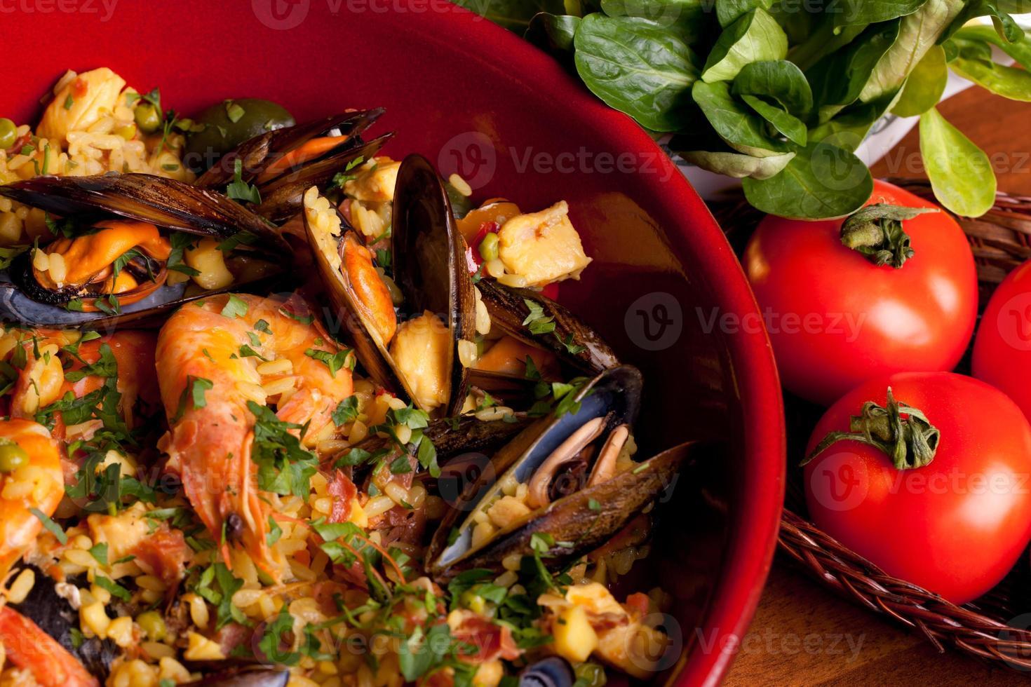 tradiciones españolas - paella foto
