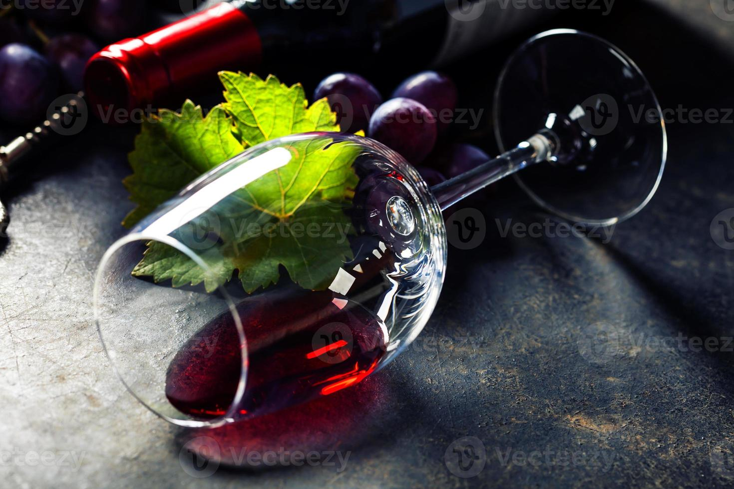 copa de vino tinto foto