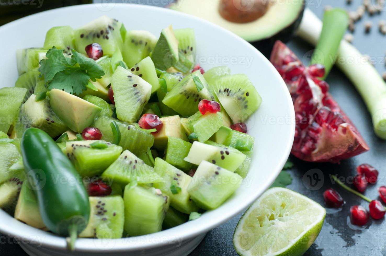 salsa de kiwi foto