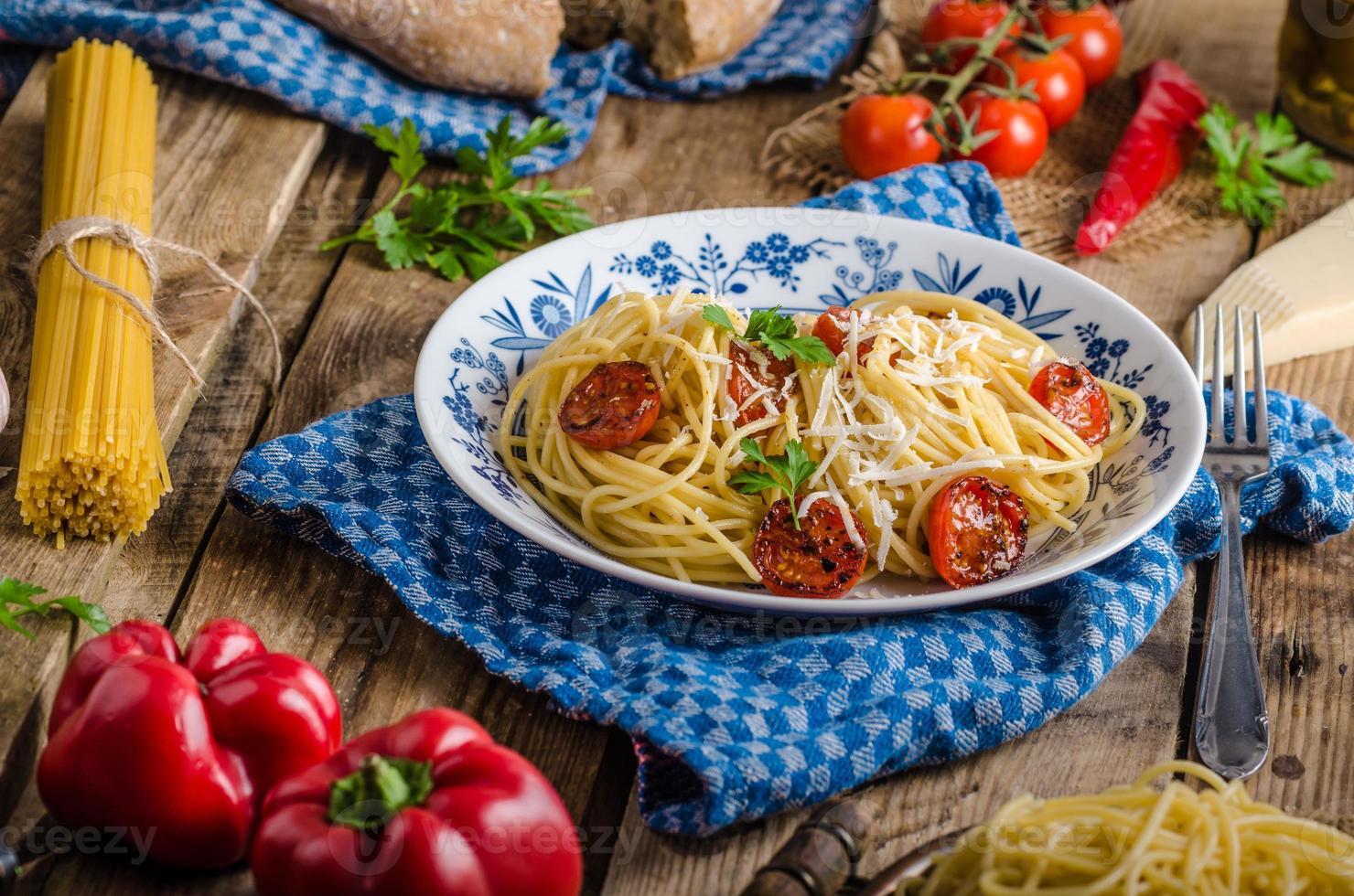 Italian pasta photo