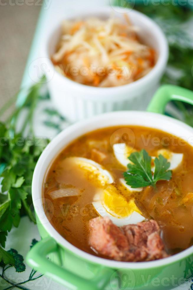 cabbage soup photo