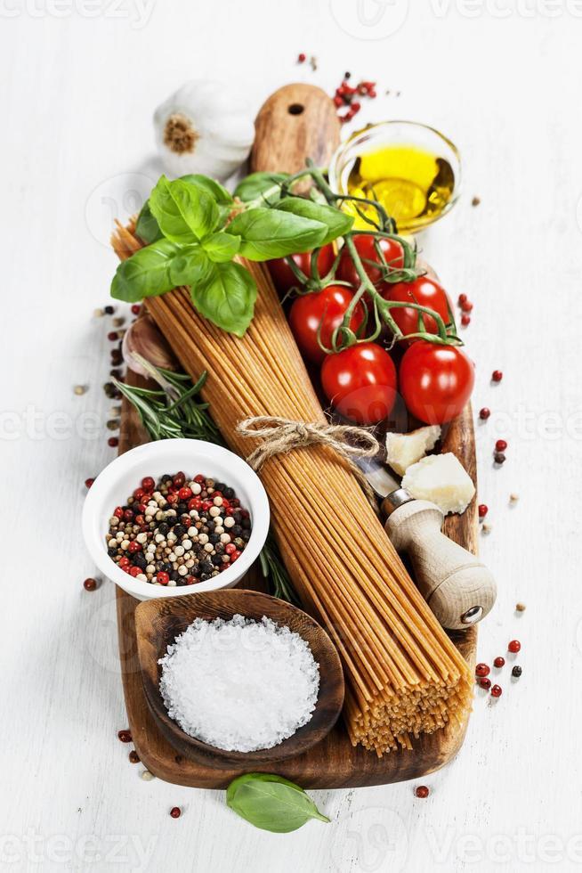 Italiaanse pasta foto