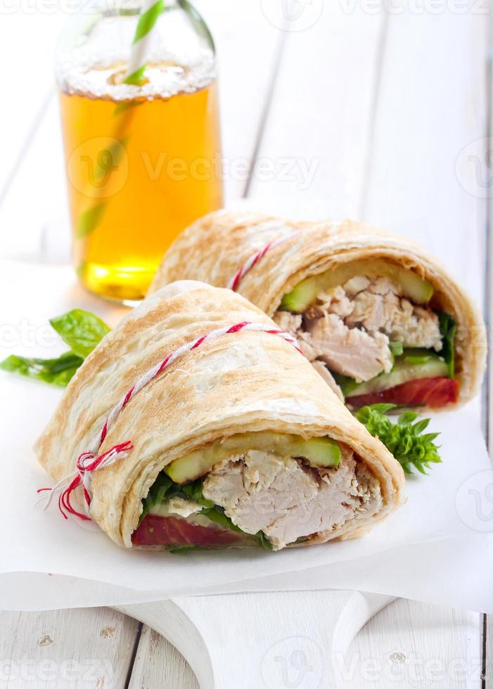 tortilla wrap foto