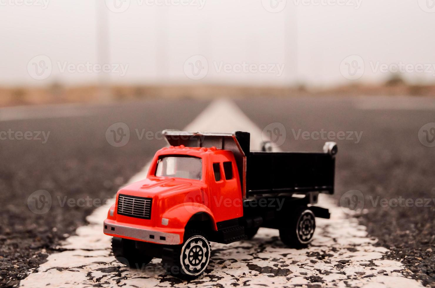 model van de vrachtwagen foto