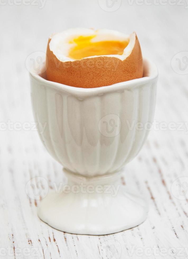 desayuno con huevo foto