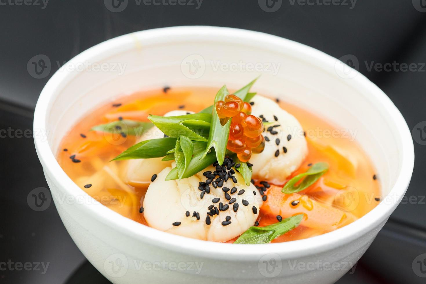 sopa japonesa foto