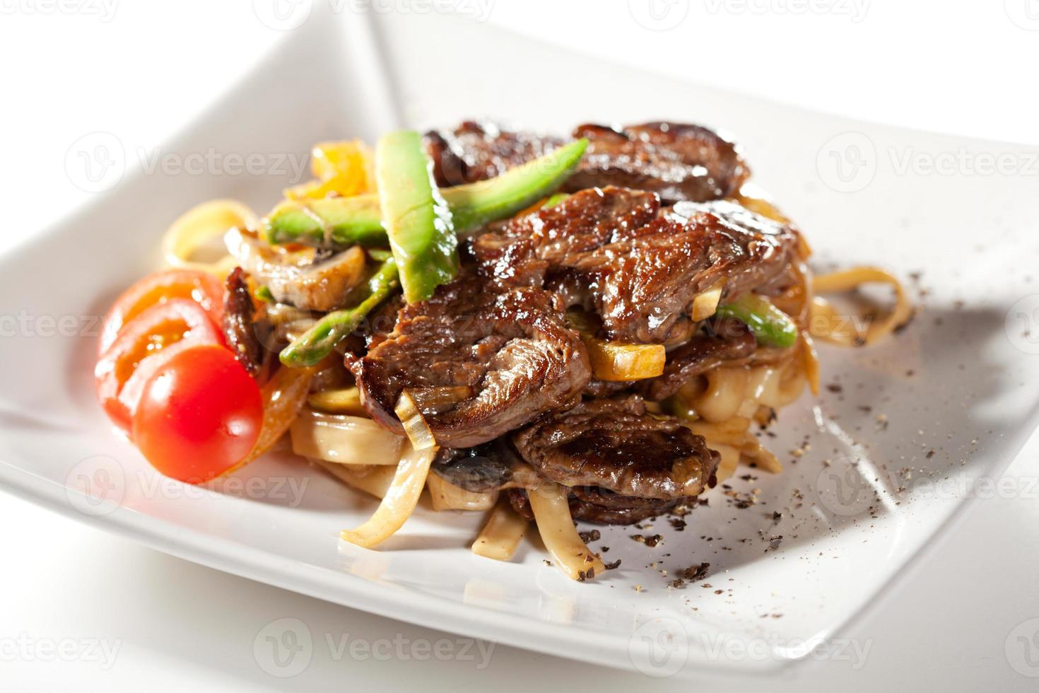 Noodles with Beef photo