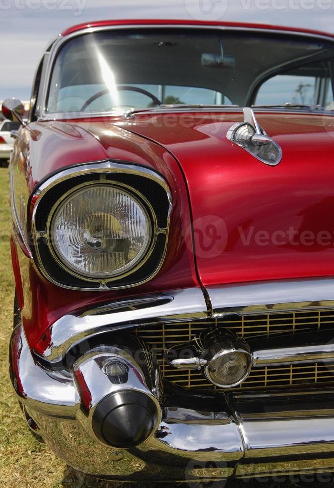 Custom Paint Job on hot rod classic car photo