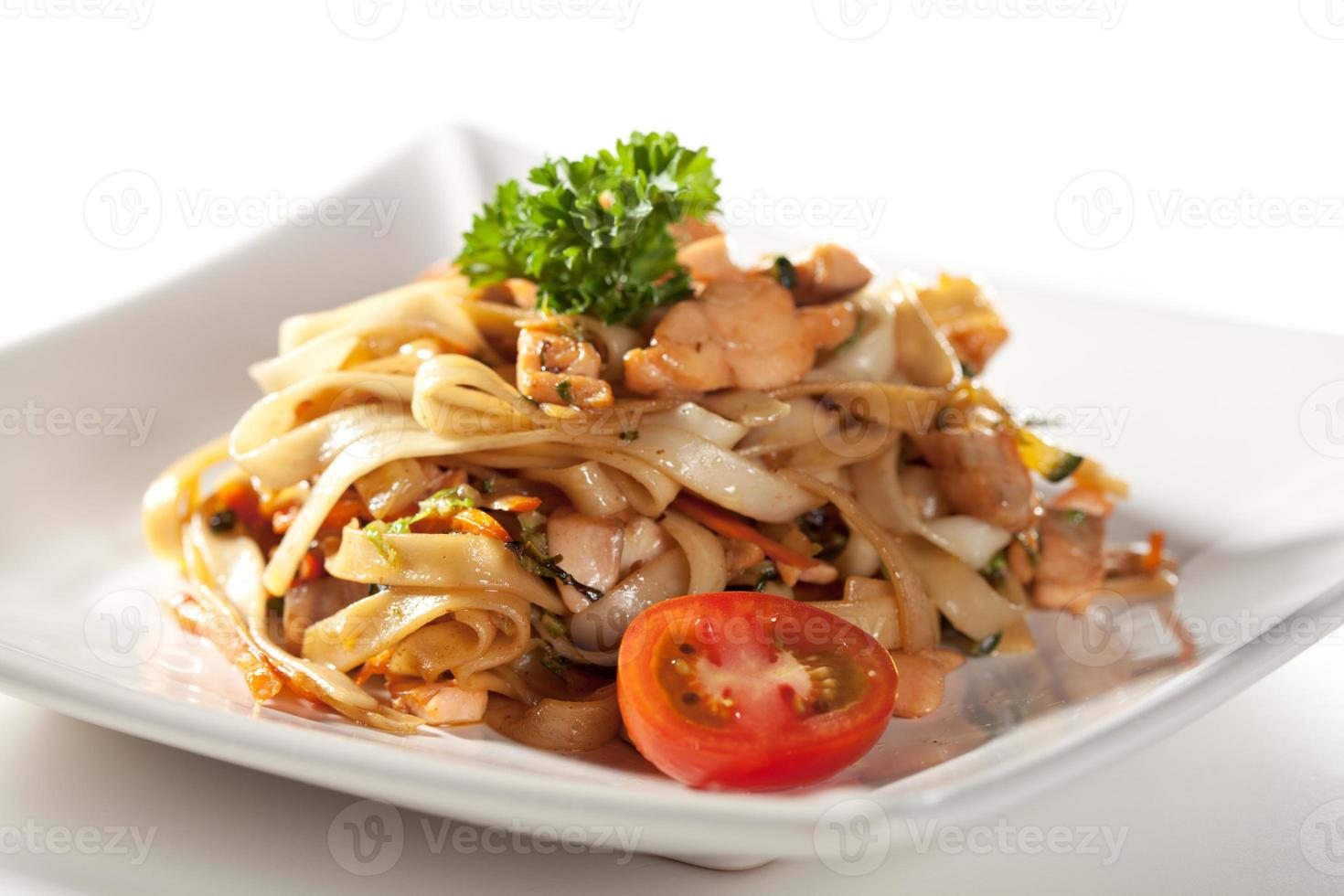 Noodles with Seafood photo