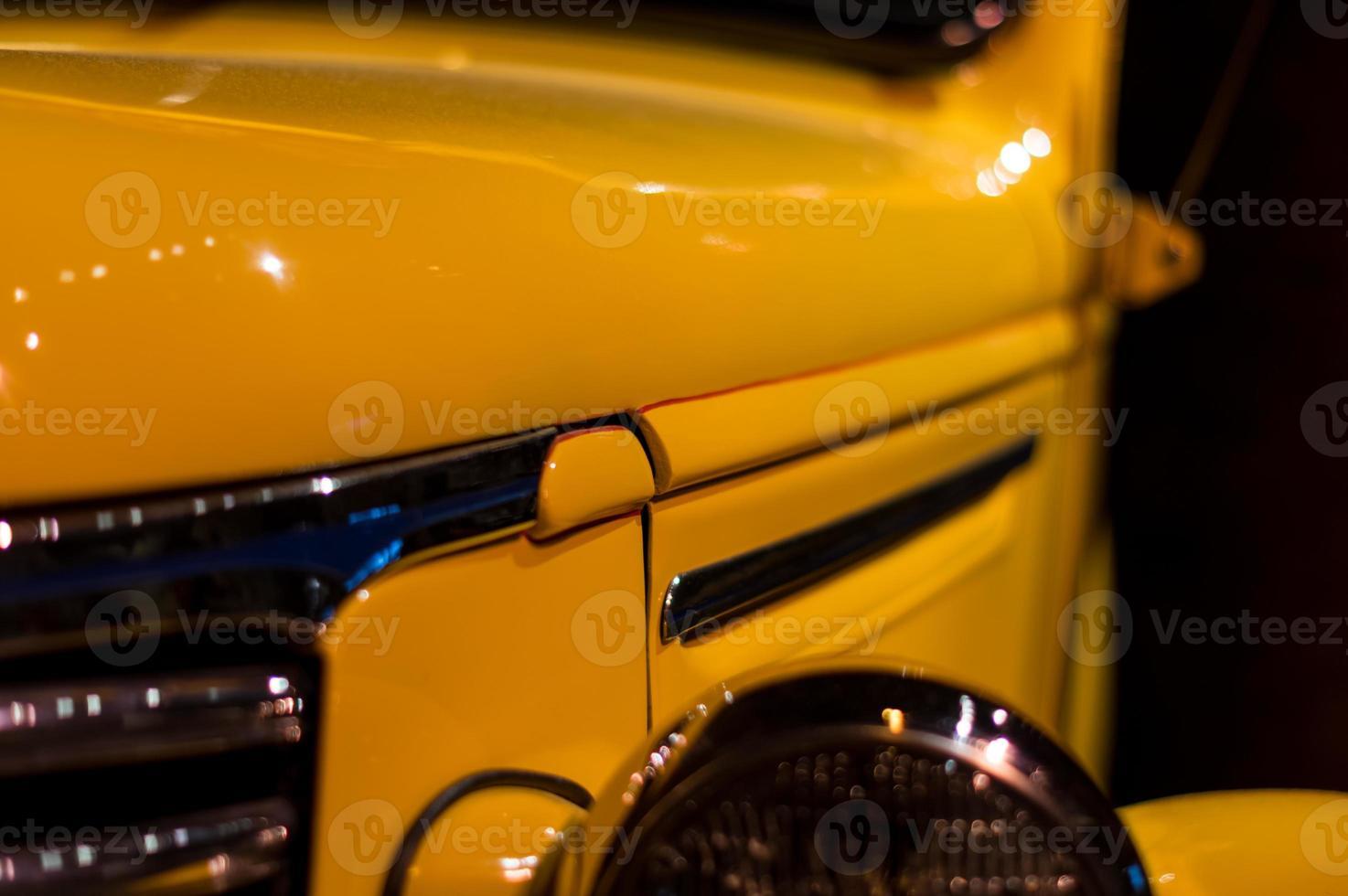 Old Yellow Car photo