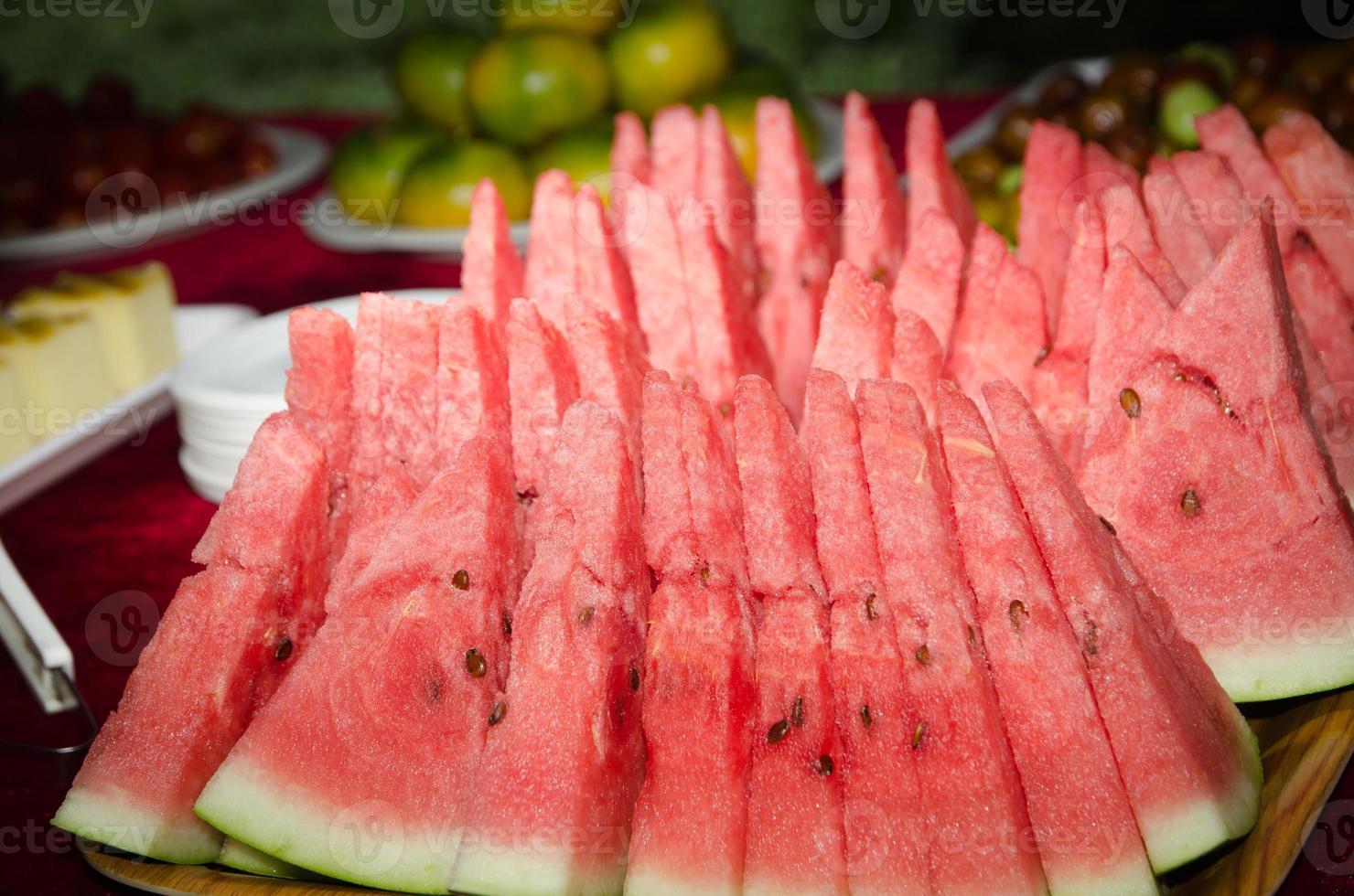 fruta de sandía foto