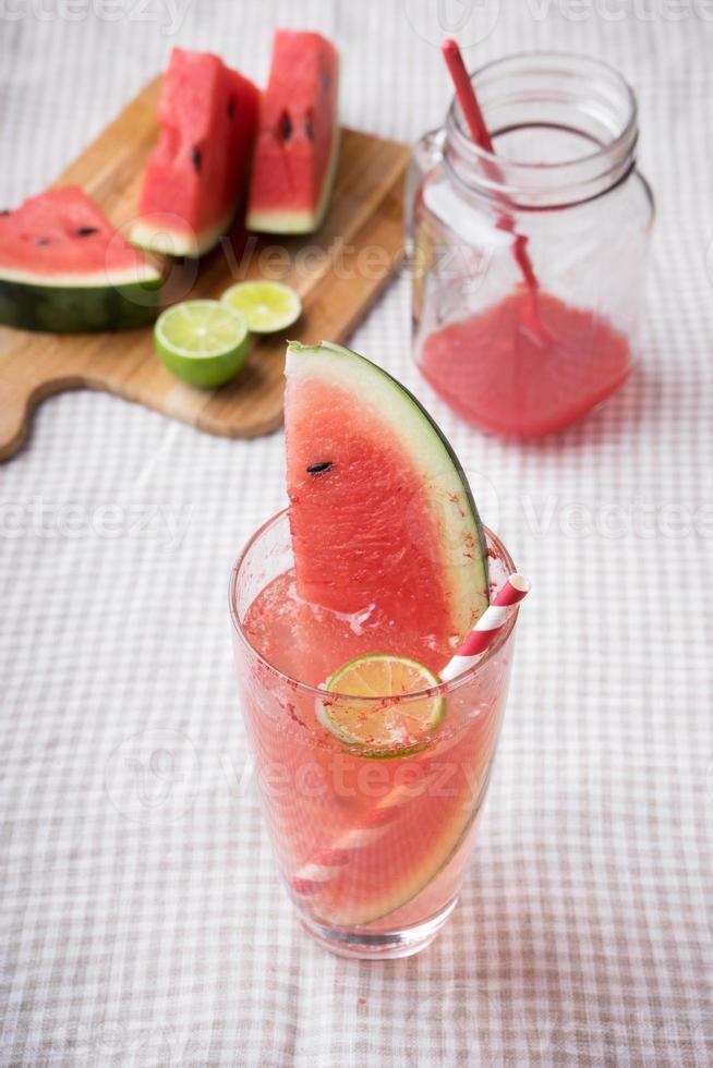 Watermelon drink photo