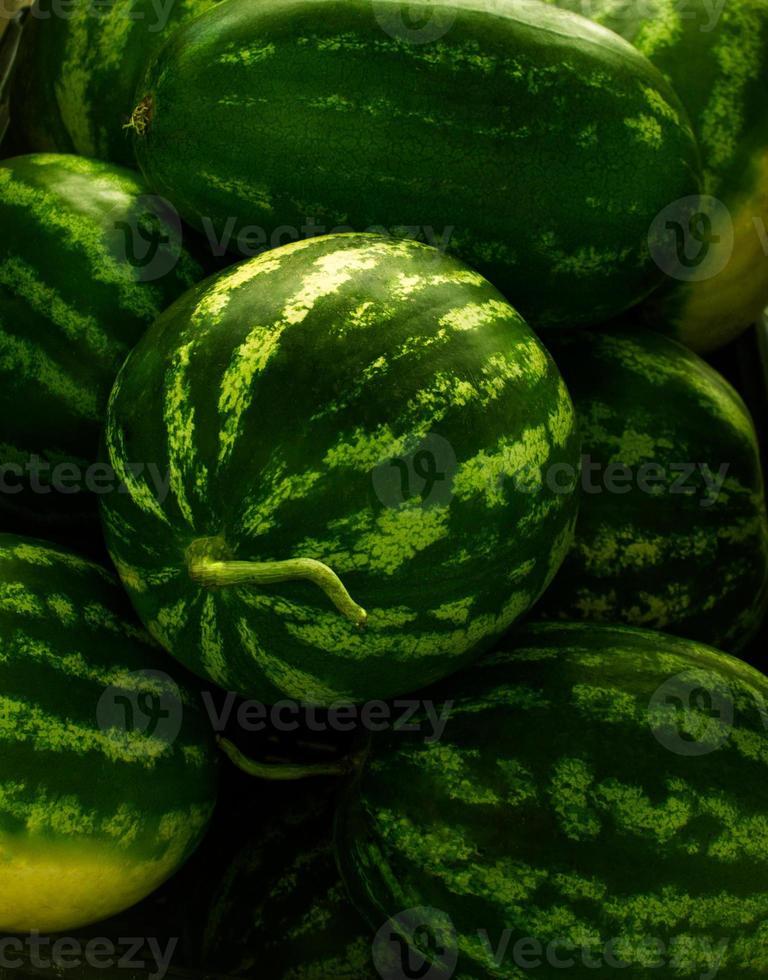 Watermelon at a Farmers' Market photo