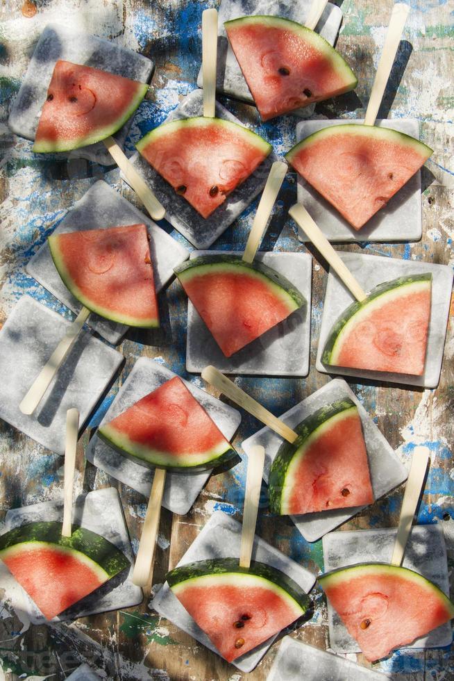Slices of watermelon photo