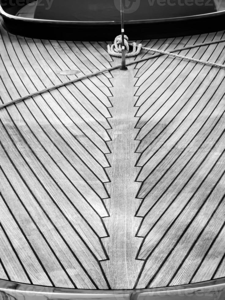 Pont de bateau photo