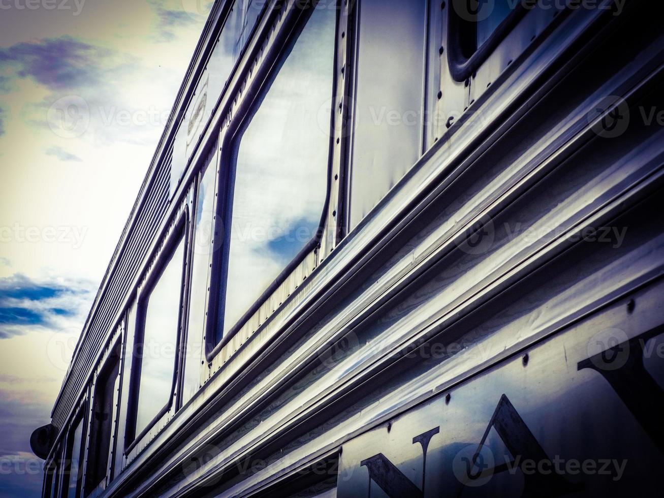 Tren de pasajeros foto