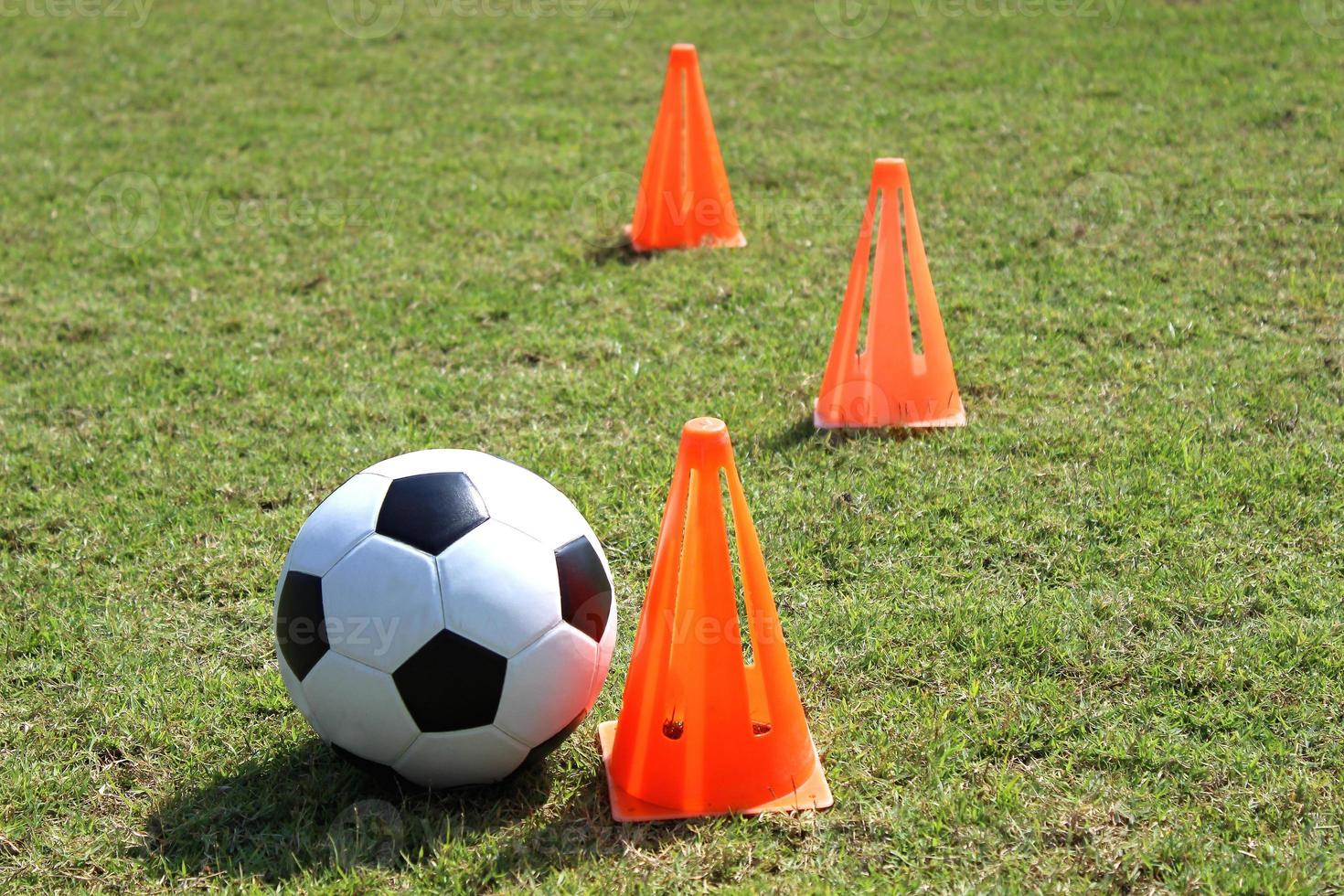 entrenamiento de futbol foto