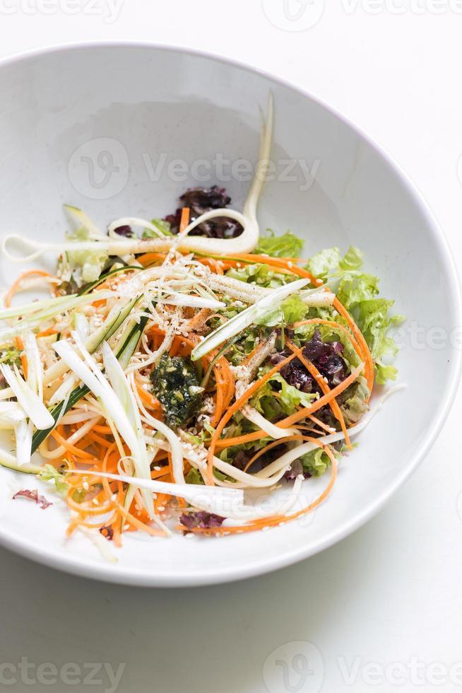 Vegetable salad mix photo
