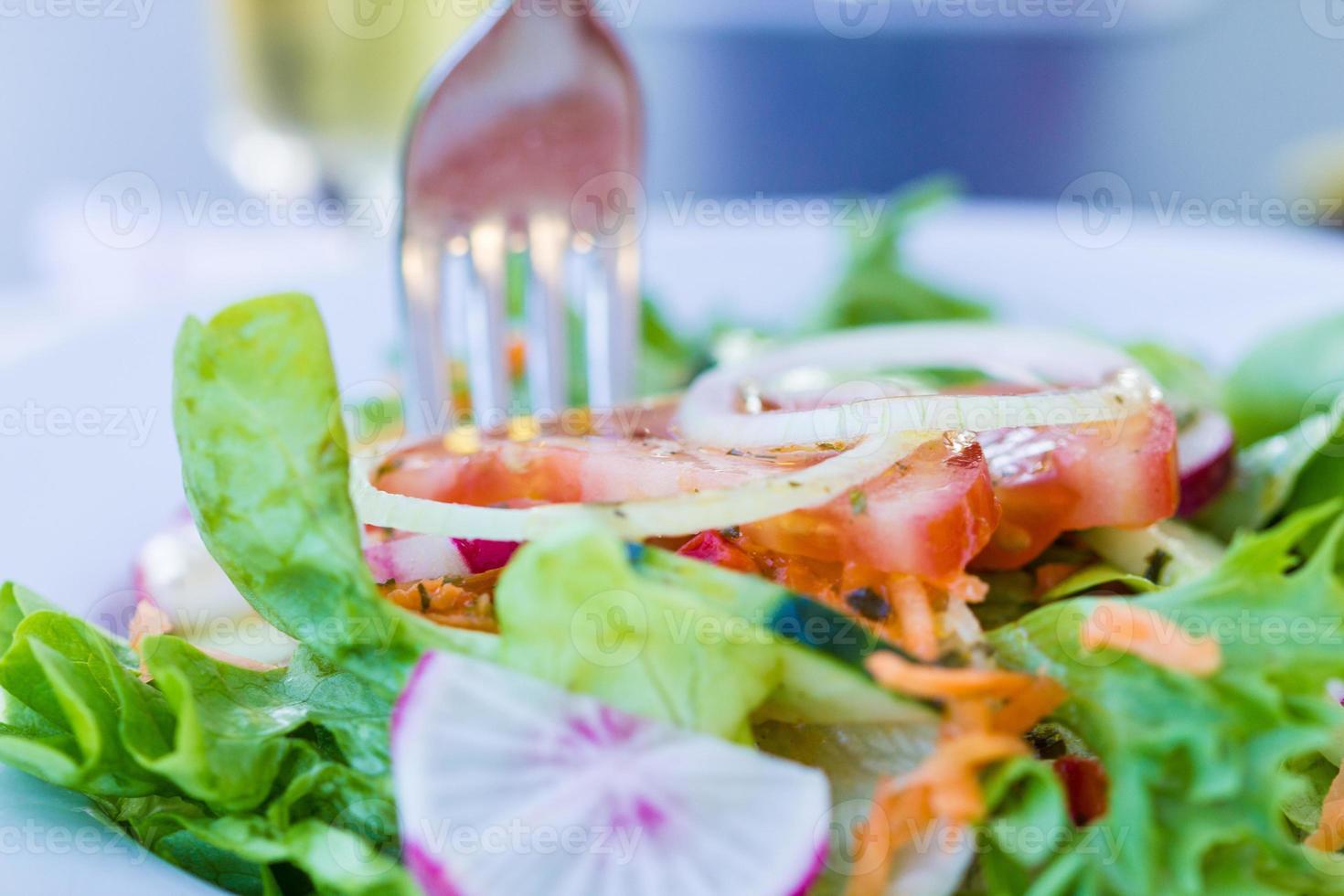 Fresh salat photo