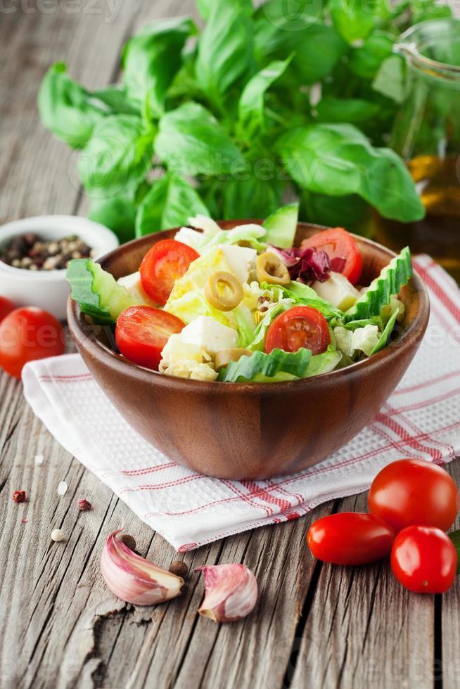 Fresh summer salad photo