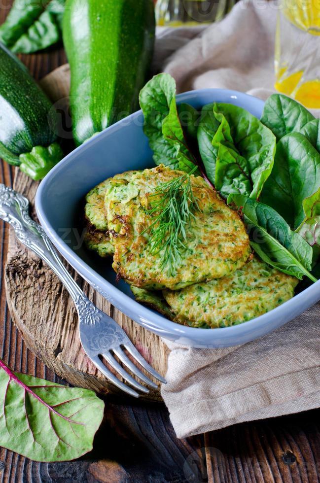 Zucchini Fritters photo