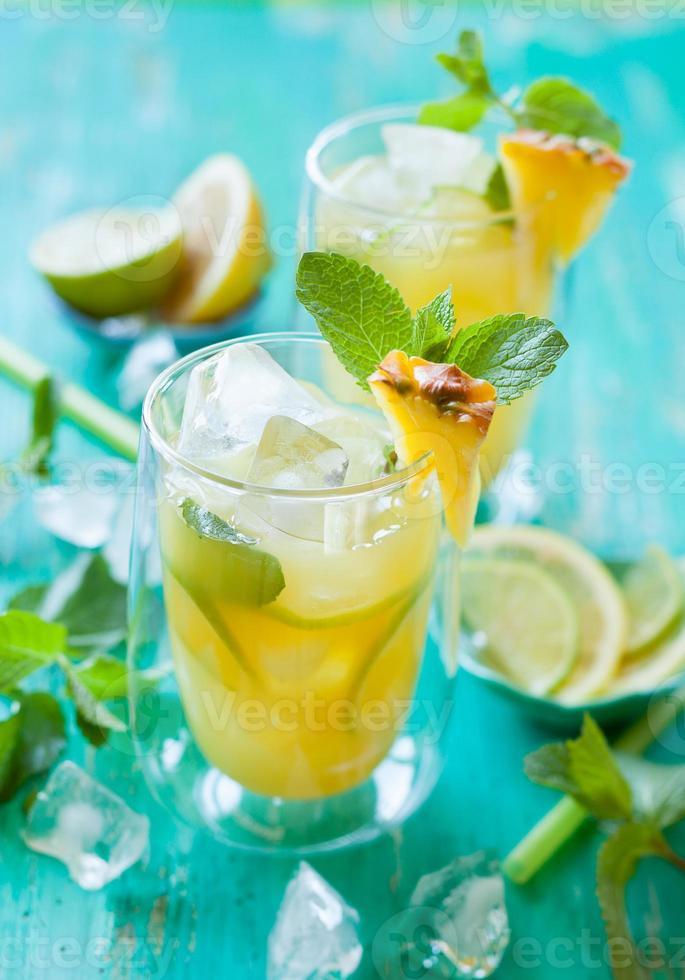 limonada de piña foto