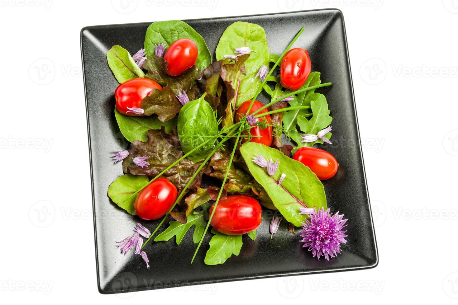 Mixed vegetable salad photo