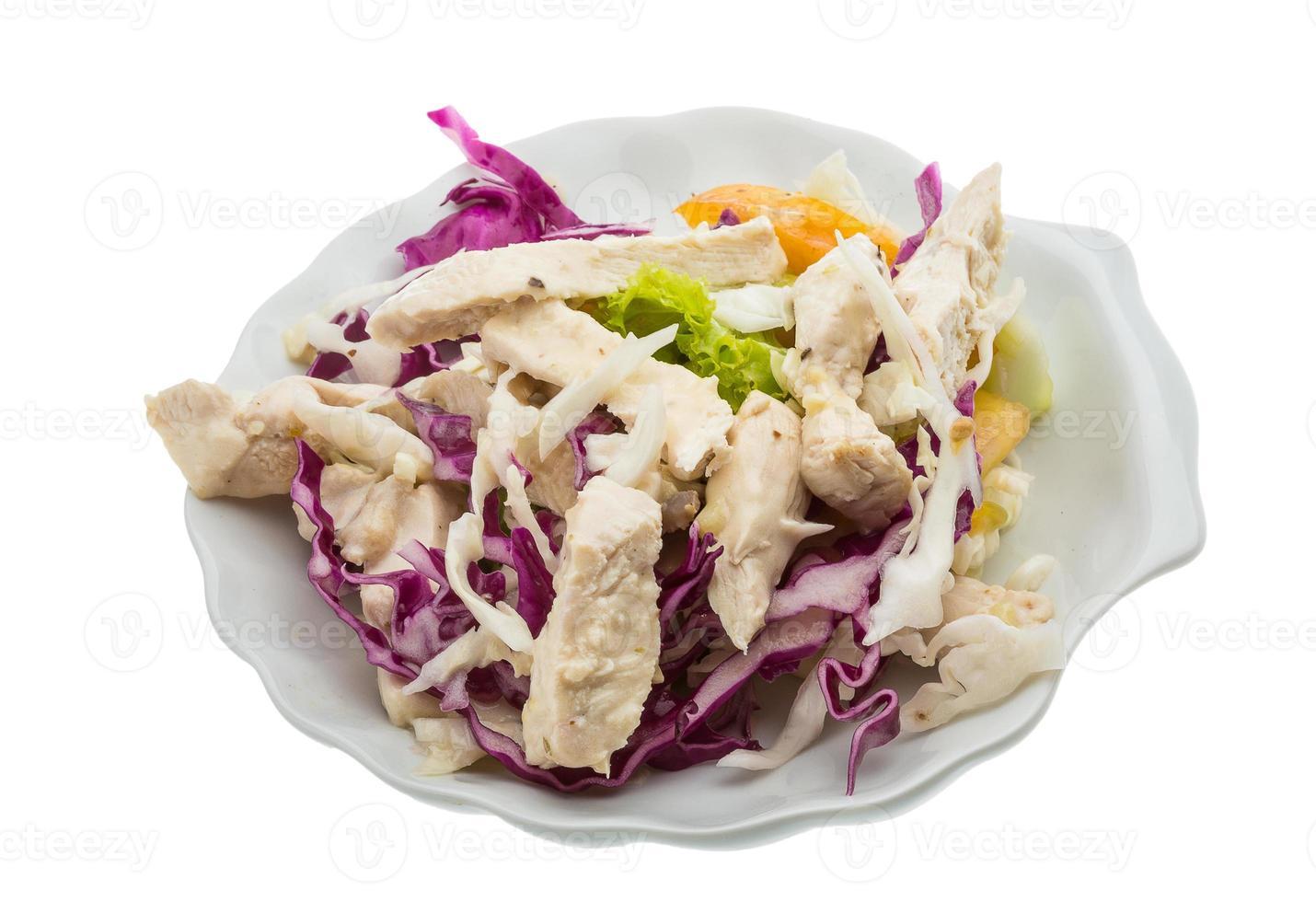 ensalada de pollo foto