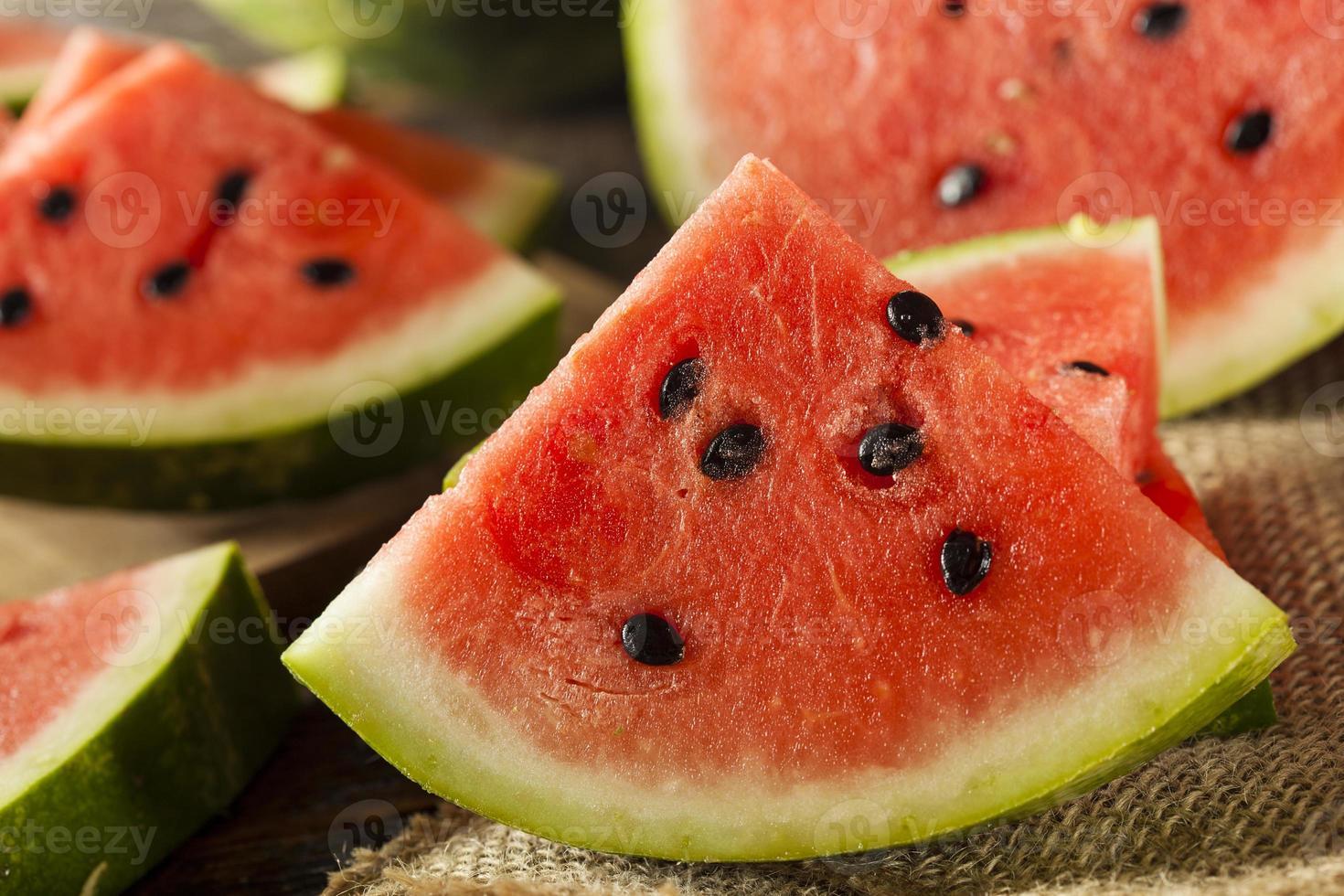 Ripe Healthy Organic Watermelon photo