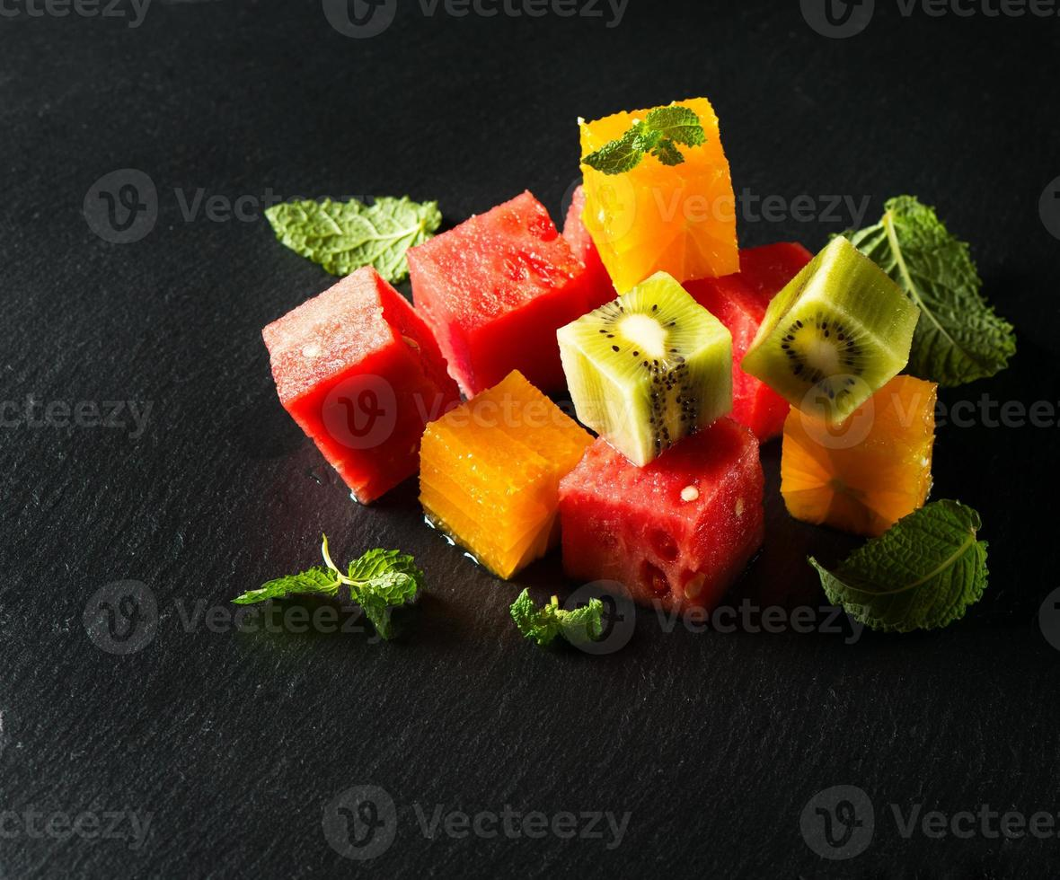 Salad of frtuits photo