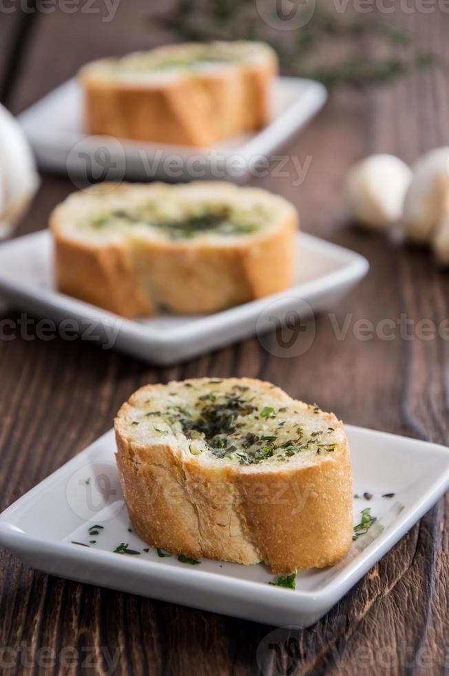 Portion of Garlic Bread photo