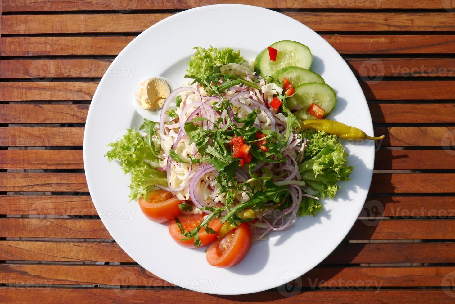 Strasbourg sausage salad photo