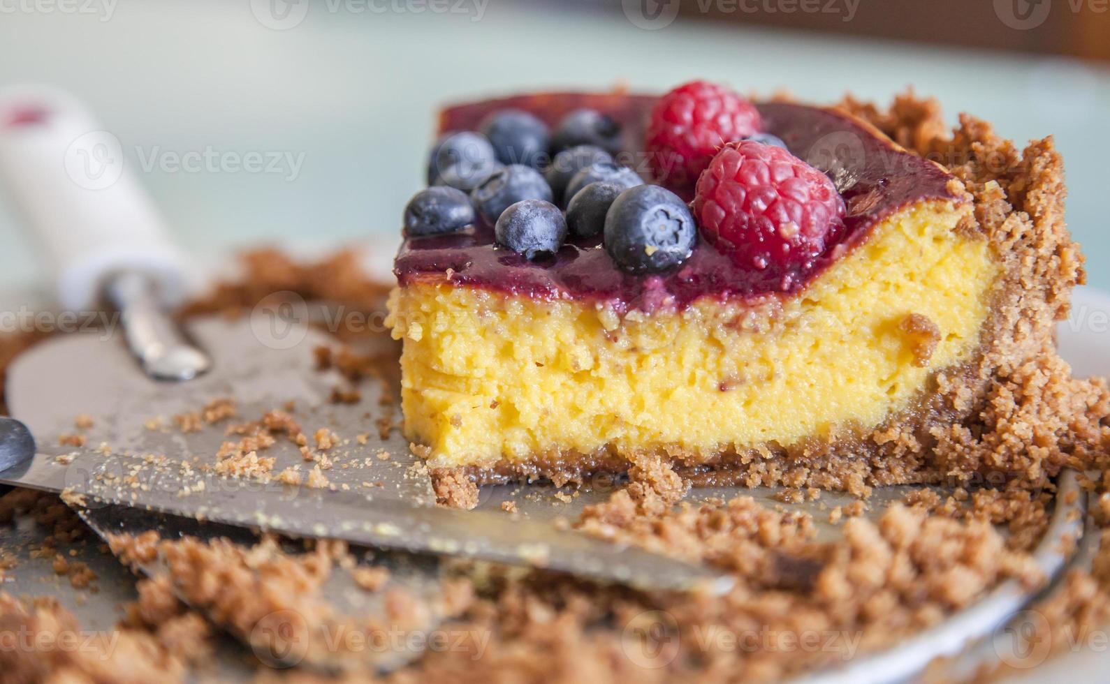 Cheesecake: last slice photo