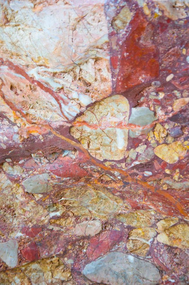 roca de mármol foto