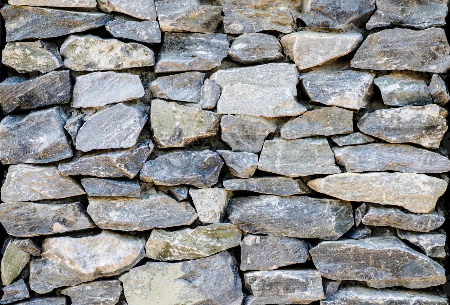 muro de piedra foto