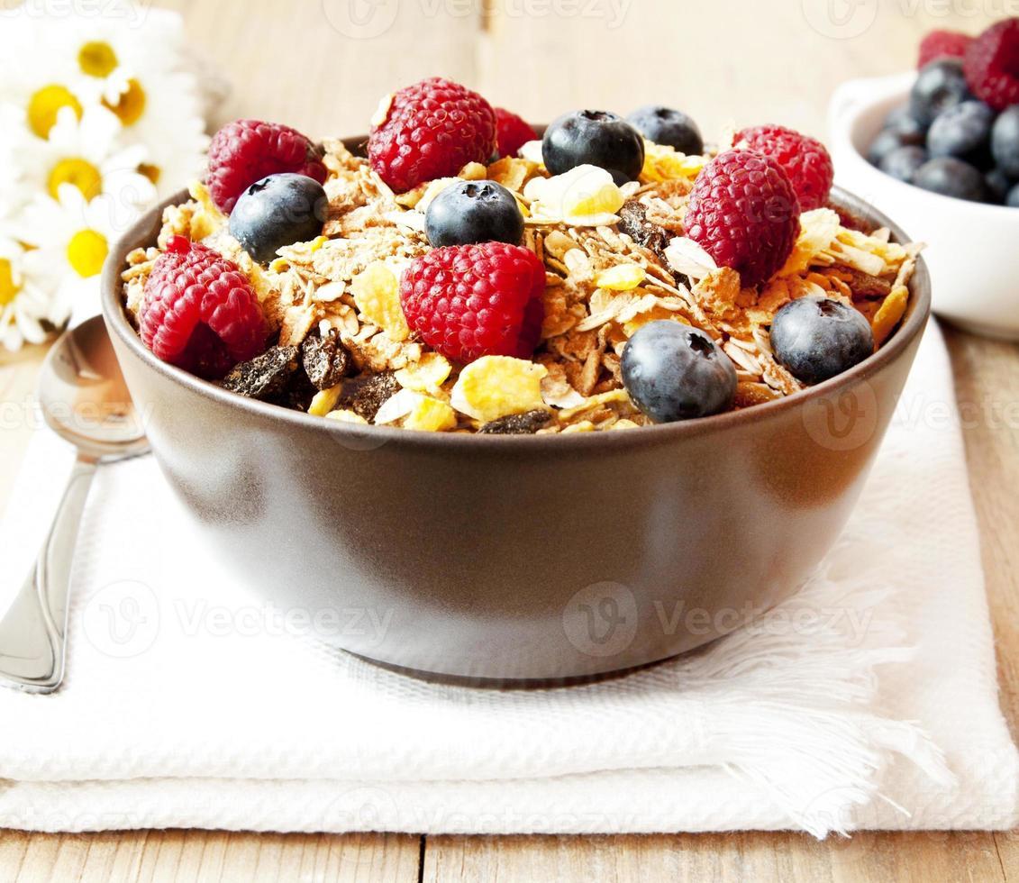 Muesli with Berries photo