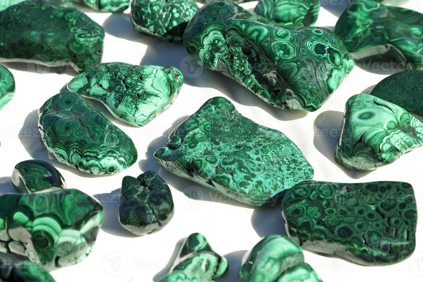 Malachite mineral specimens photo