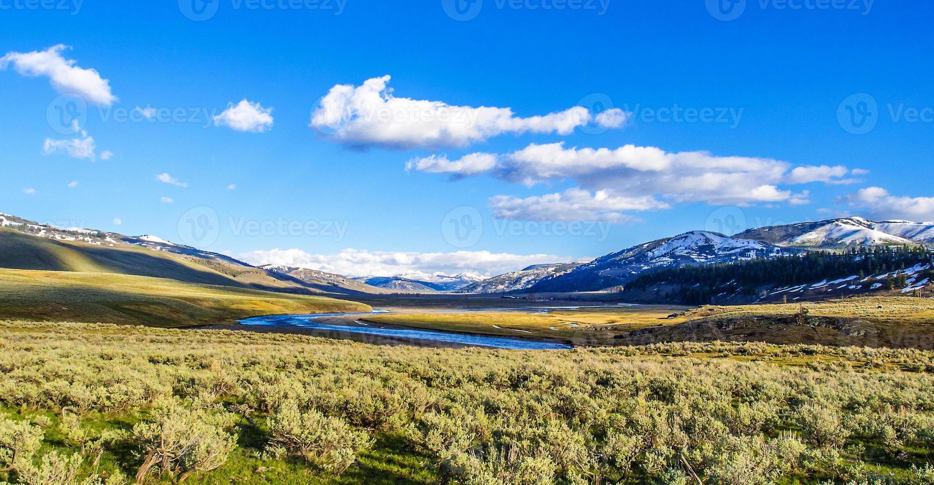 paisaje escénico en el parque nacional arches foto